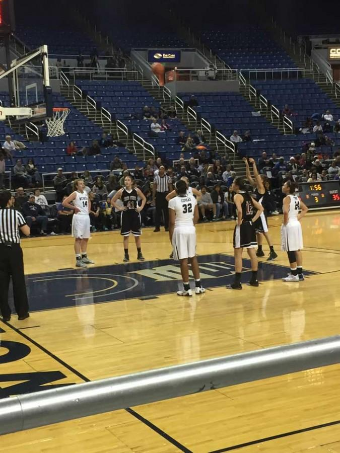 The Chico State women's basketball team lost 52-81 in its final preseason exhibition game to the University of Nevada, Reno Wolf Pack. Photo credit: Nick Martinez-Esquibel