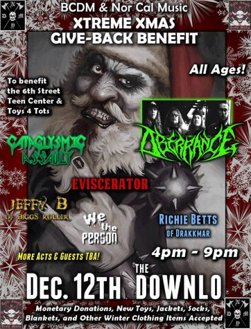 Xtreme Xmas Give-back to benefit community youth