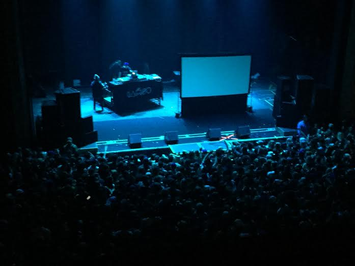 Despite fights and a short set, IAMSU! rocked the crowd at The Senator Theatre. Photo credit: Tom Sundgren