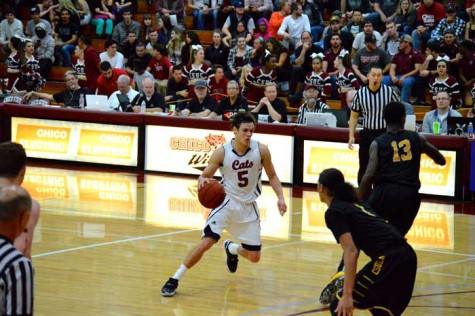 Junior guard Robert Duncan put up an astounding 29 points against the Academy of Art on Nov. 24. Orion file photo.