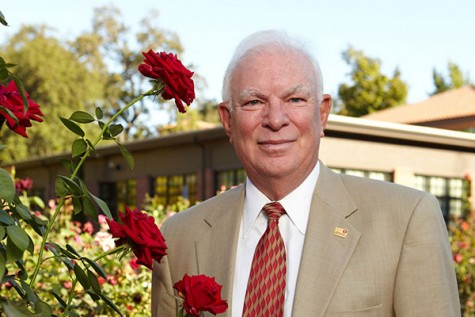President Zingg is set to retire at the end of the spring semester. Photo courtesy of Chico State