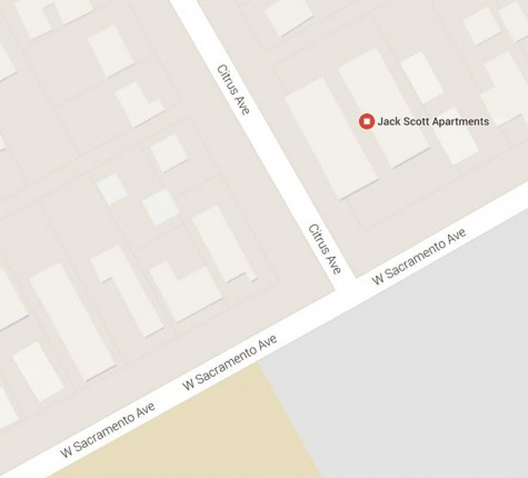 A woman was killed Wednesday night after being struck by a car and dragged half a mile  Photo from Google maps