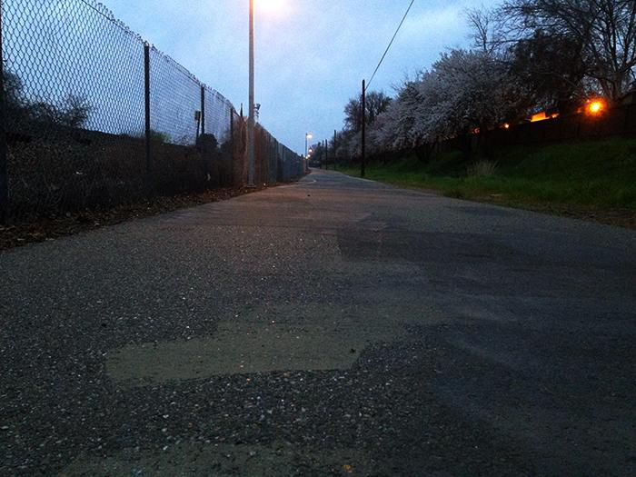 Long road to safety on bike path