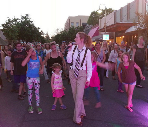 Chico locals boogie down Broadway