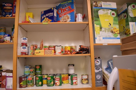 Food pantry at the Center for Healthy Communities. Photo credit: George Johnston
