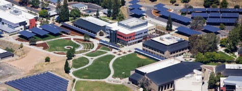 Butte College overview of solar panels. Photo credit: www.dpr.com