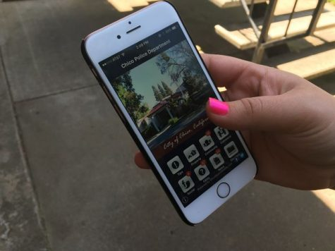 Chico PD created an app so users can easily access the police. Photo credit: Kayla Fitzgerald