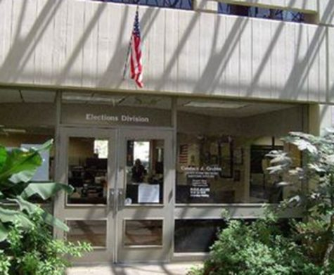 Voter registration forms can be picked up at the Butte County Elections Office until Monday. Photo credit: Google Maps