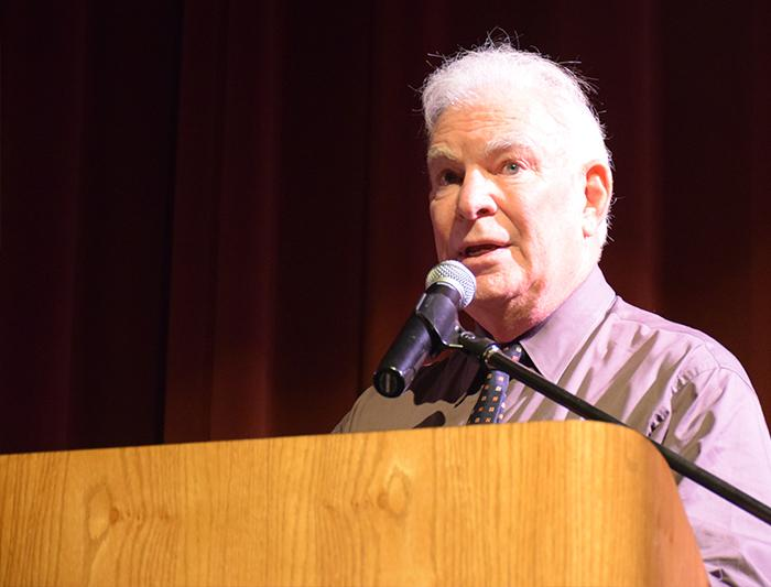 Zingg says goodbye to Chico State at retirement party