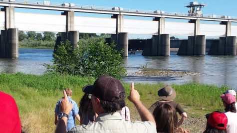 Students took a field trip to learn about water usage in California. Photo courtesy of Heather Kirkendal