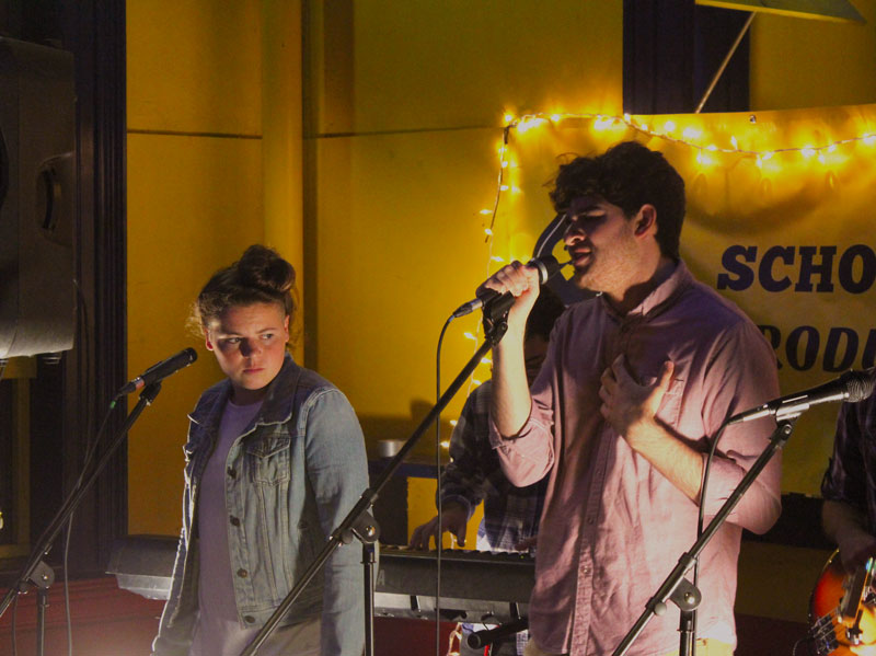 Local record label, singer-songwriter team up
