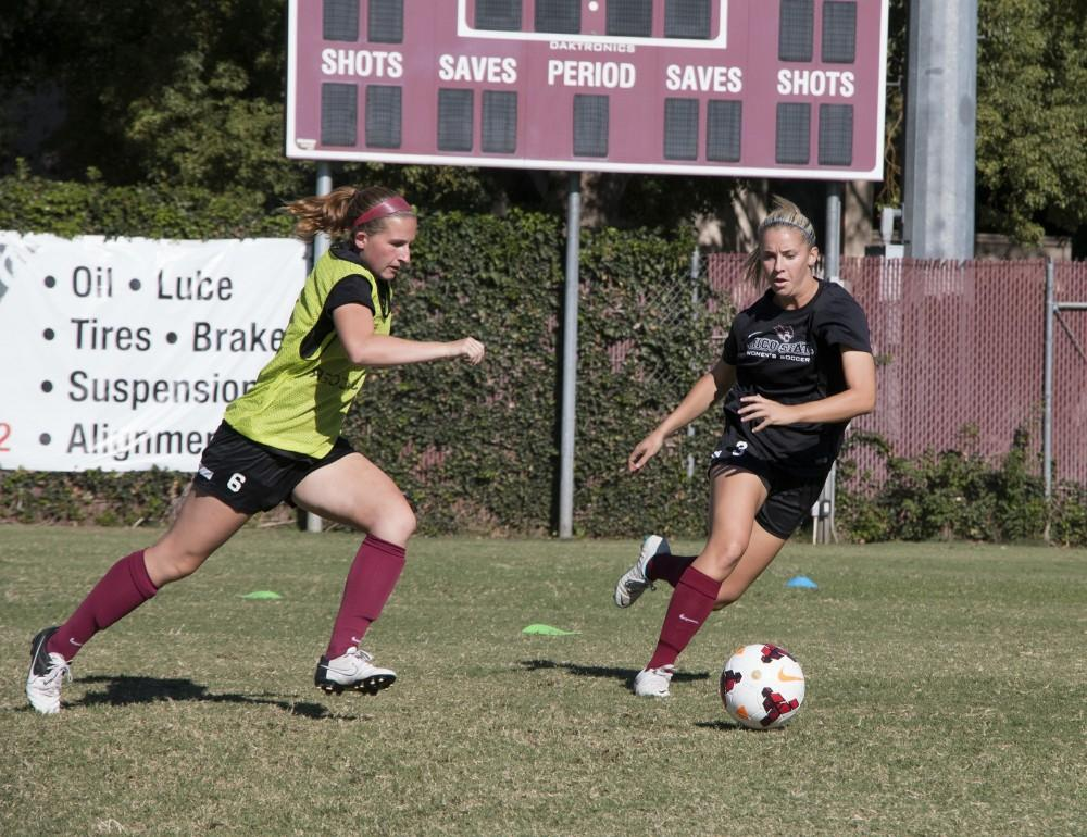 Women's soccer earns first win of the year