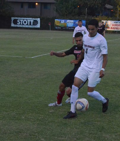 Men's soccer team continues search for win