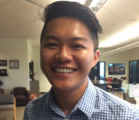 Vu Nguyen, Associated Students Executive Vice President Photo credit: Molly Sullivan