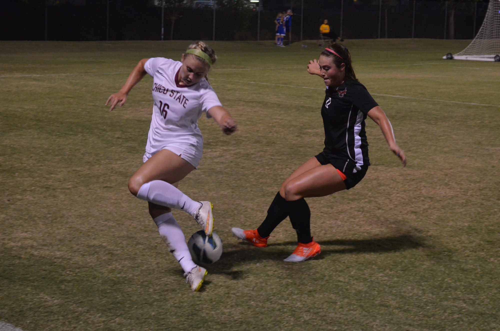Women's soccer team on a streak