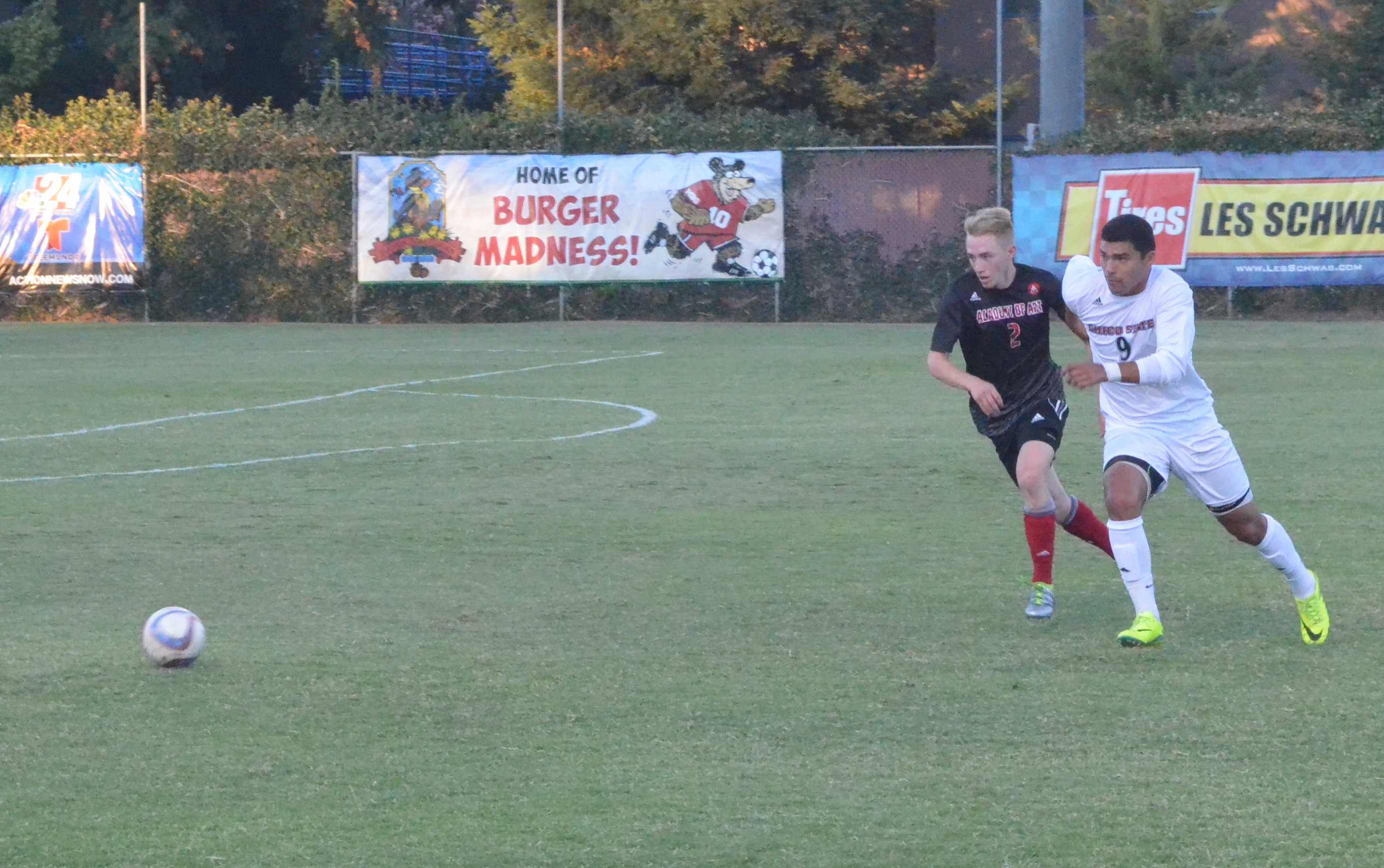 Nuno leads men's soccer to their first win