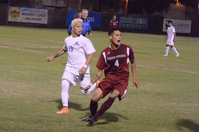 Men's soccer suffers at home