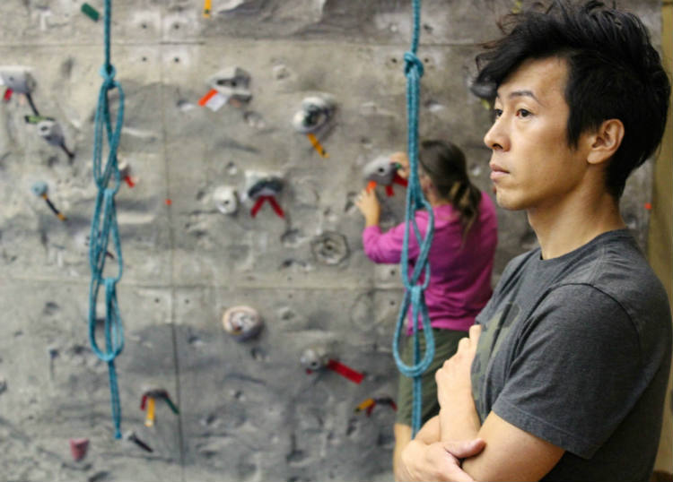 Koichi Matsumoto, student and outdoorsman. Photo credit: Jae Siqueiros