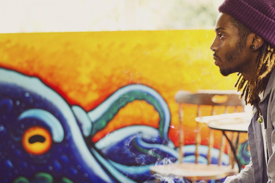 David+Mcmillain%2C+multimedia+artist%2C+sits+down+to+talk+about+his+upcoming+art+show+at+Naked+Lounge+Friday+November+11th+%40+6+p.m.+Photo+credit%3A+Jordan+Rodrigues