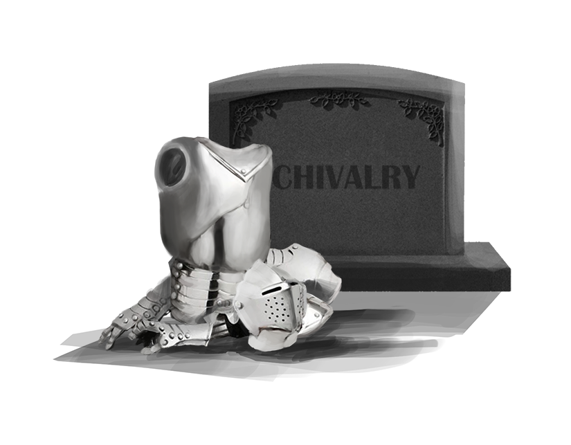 The death of chivalry in relationships