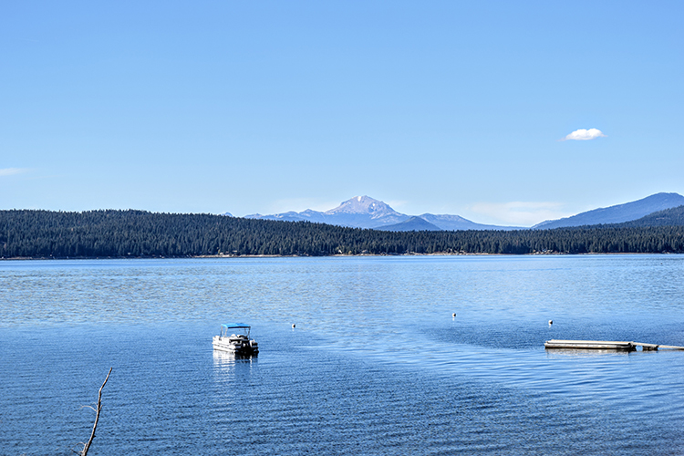 Lake Almanor located in Chester, California. Photo credit: Carson Predovich