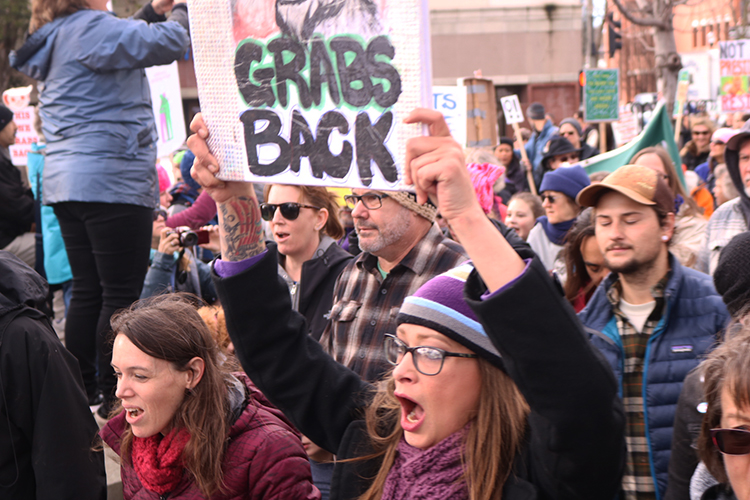 Marchers fill Chico streets