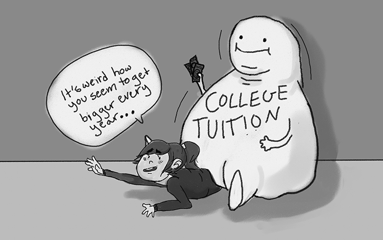 Increased tuition raises questions and encourages struggle
