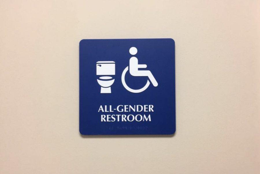 All-gender restroom Photo credit: Alejandra Fraga