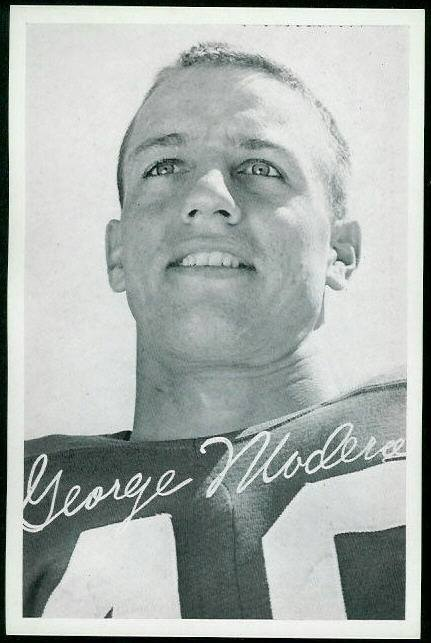 George Maderos Playing for the San Francisco 49ers. Photo courtesy of the official SF 49ers Facebook page.
