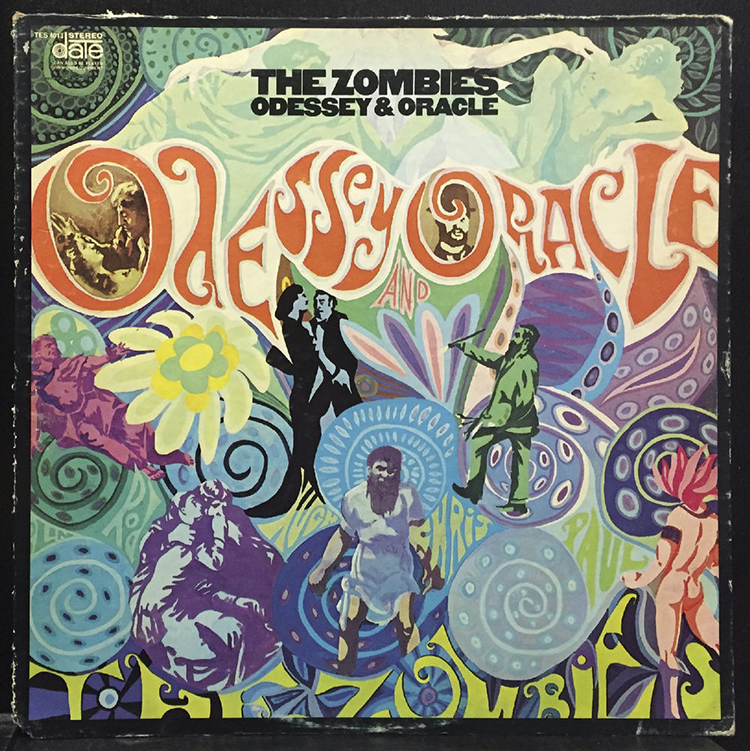 The Zombies album Odessey and Oracle. Photo courtesy of commongrounds.