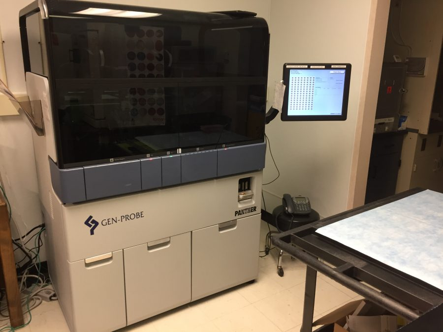 High+tech+machine+that+gets+Chlamydia+test+results+in+under+four+hours.+Photo+credit%3A+Carly+Campbell