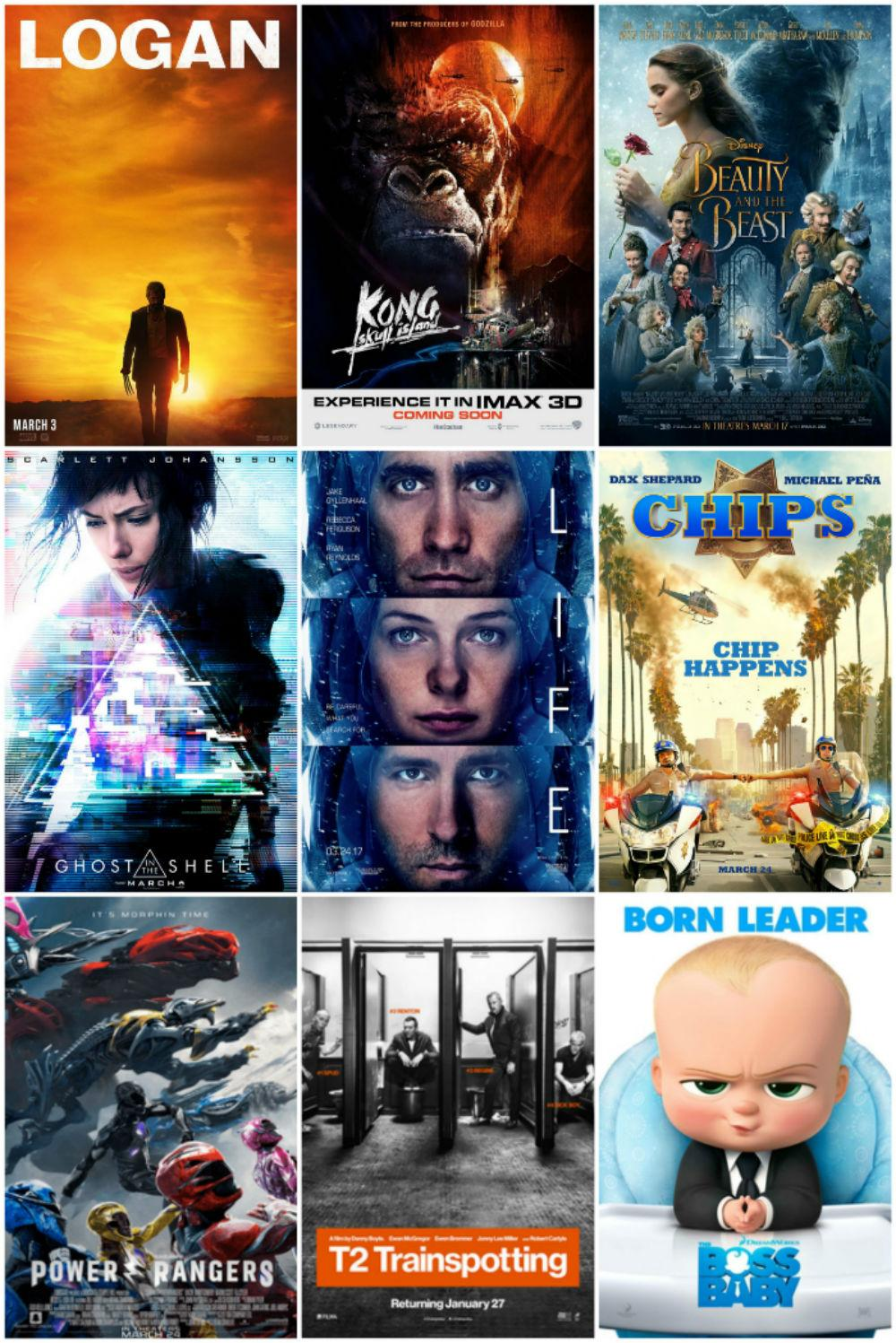 March offers a great number of movies in 2017 Photo credit: George Johnston