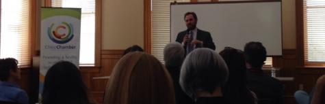 Assemblyman comes to Chico; discusses plans for Oroville Spillway future