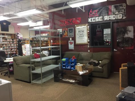 KCSC Radio office temporarily shut down