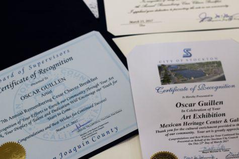 Oscar Guillen- Art Exhibition