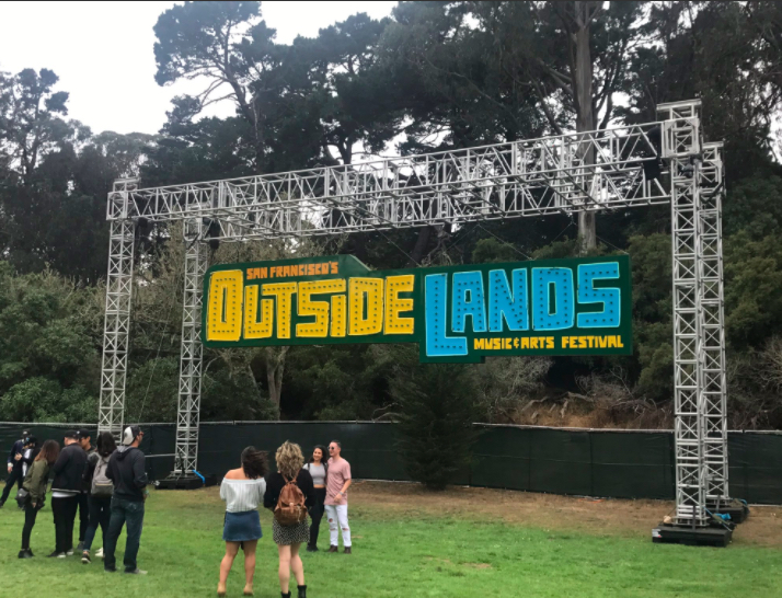 Chico State insider at Outside Lands