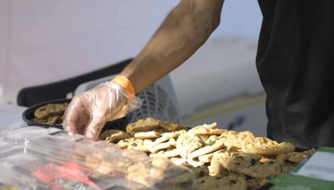 Guy Distributing Cookies