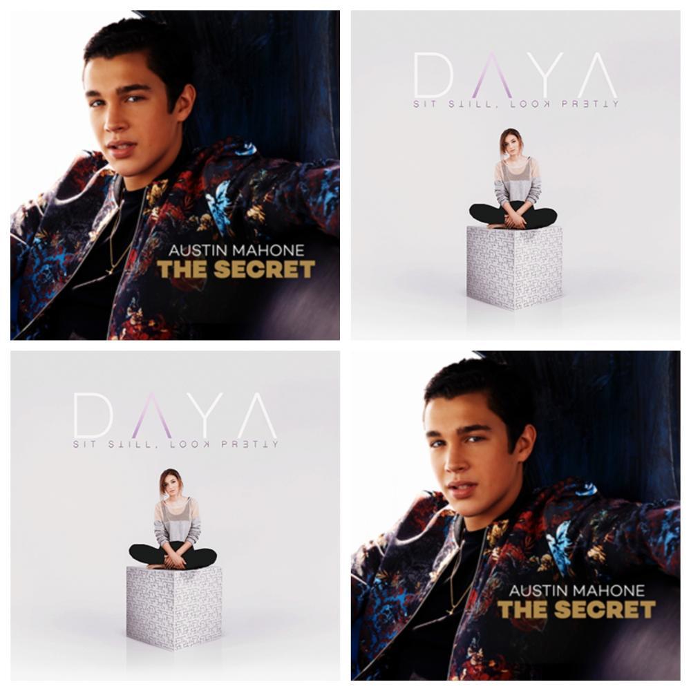 Austin Mahone and Daya album artwork