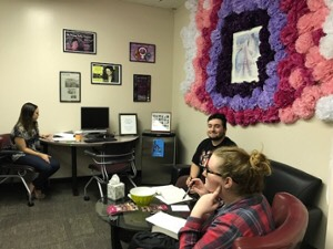 Student lounge opens in Multicultural Gender Studies department