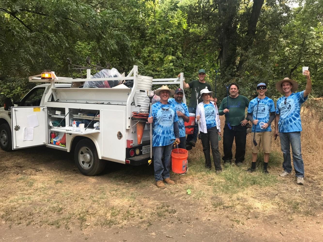 Community contributes to clean local parks