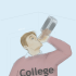 Four steps to being drunk in class