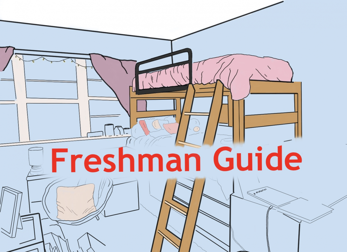 Guide to being a freshman Photo credit: Briana Mcdaniel