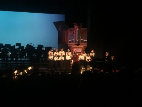 A childrens' choir is featured in the concert. Photo credit: Natalie Hanson