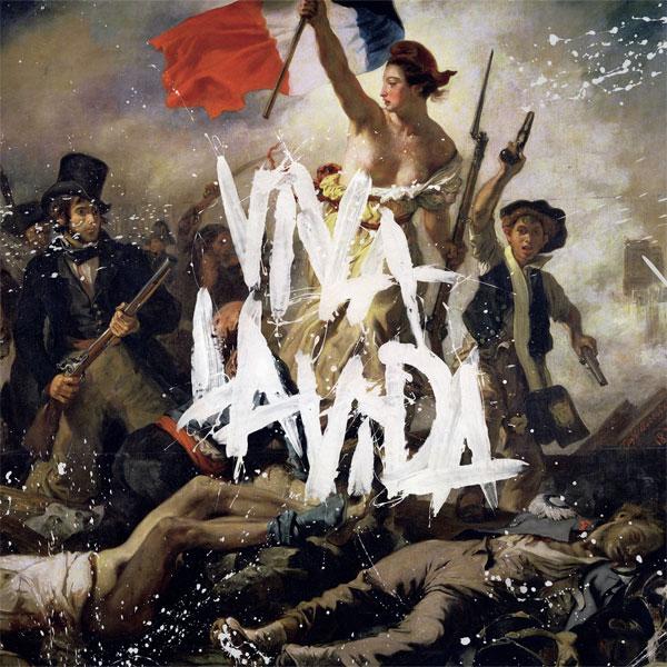 Viva La Vida album artwork by Coldplay