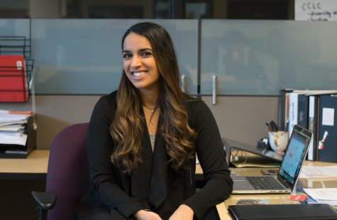 Alisha Sharma is ready to take on new position but still remains focused on past and current goals Photo credit: Kate Angeles