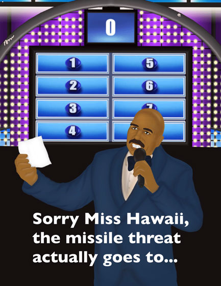 Hawaiian missile alert is nothing more than an 'unfortunate error'