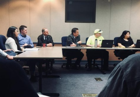 The City Council further discussed plans for a community court at Monday's Town and Gown Meeting. Photo credit: Josiah Nicholl