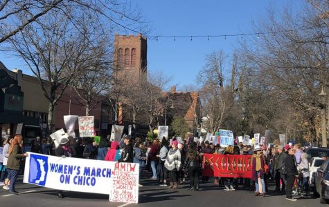 Women march on Chico to create change