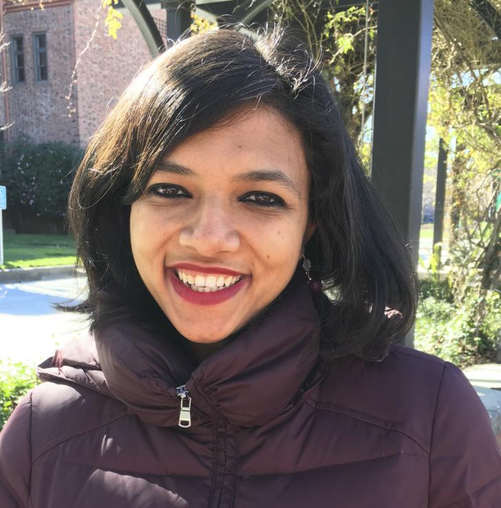 Child Development Professor Shrija Dirghangi is one of the leaders of the new weekly women's circle group. Photo credit: Kelsi Sibert