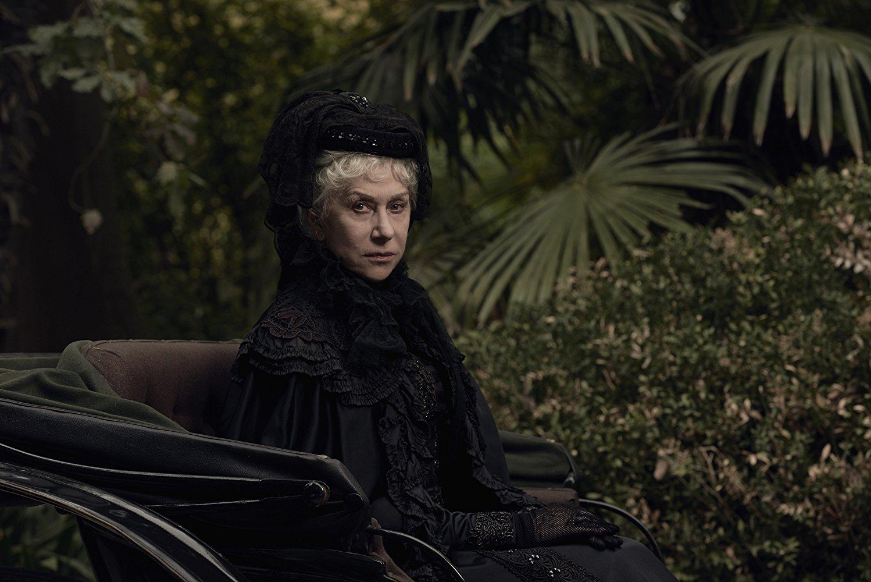 Helen Mirren stars as Sarah Winchester.  CBS Films Website Photo